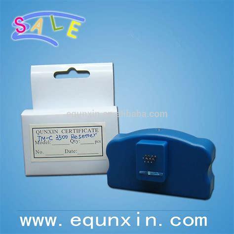 1 pc original chip resetter for epson t1801 t1811 for for epson tm c3500 maintenance box chip resetter sjmb3500