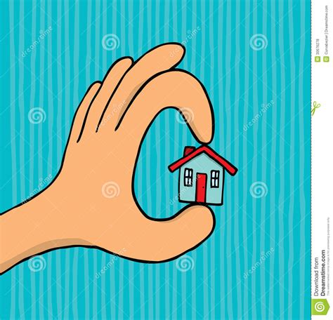 hand holding tiny house royalty free stock photos image