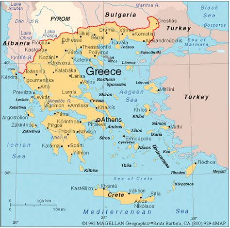 map world greece greece and more where in the world is greece