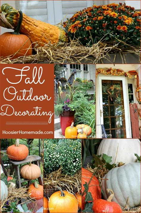 outdoor decorating for fall outdoor decorating for fall hoosier