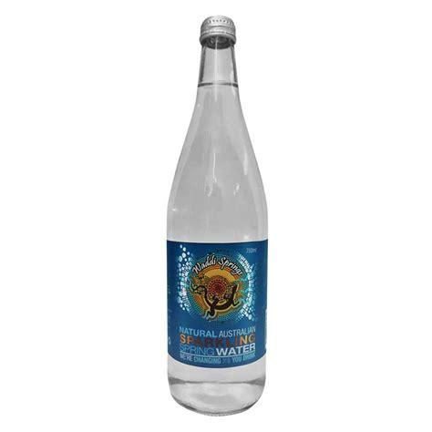 Sparkling Bottle waddi springs sparkling 750ml water 12pk
