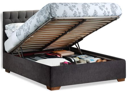 flat pack ottoman bed deep storage beds