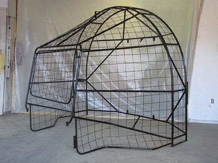 airboat cooling system stainless steel airboat cages