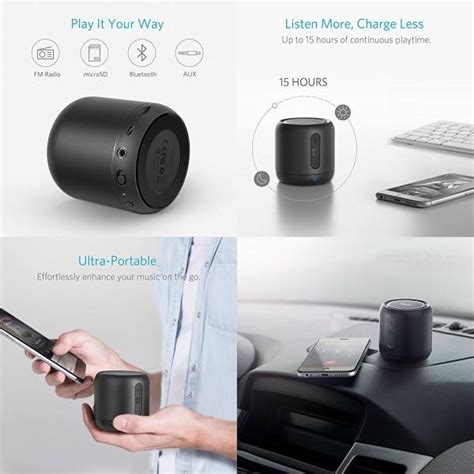 Anker Soundcore Mini Bluetooth Speaker Original anker soundcore mini bluetooth speakers only 18 99