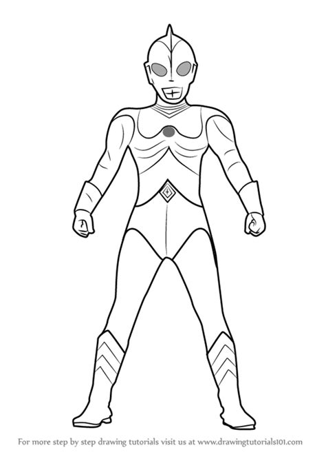 Learn How to Draw Ultraman 80 (Ultraman) Step by Step