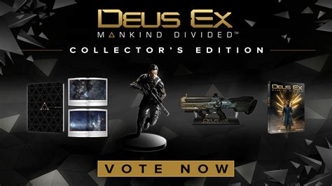 you get to decide what s in the deus ex mankind divided limited edition niche gamer