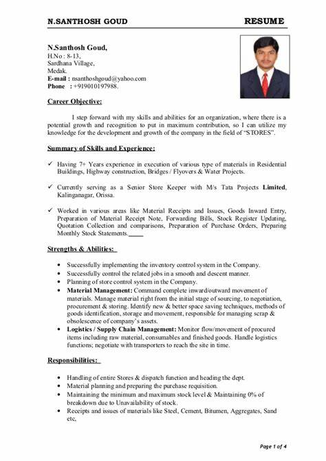 Seafarer Resume Sample - Seafarer Resume Sample Gallery Creawizard ...