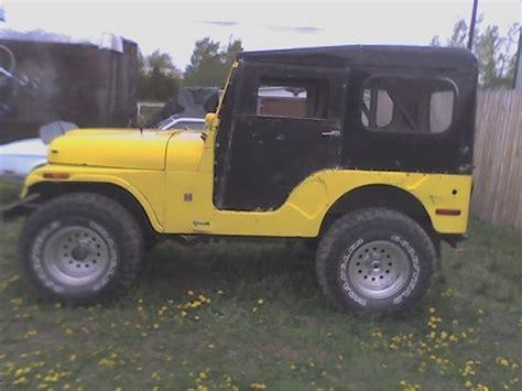 1971 Jeep Cj5 Maniac Mechanic 1971 Jeep Cj5 Specs Photos Modification