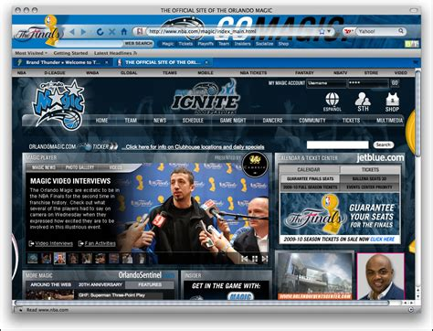 nba theme download for pc nba orlando magic firefox theme information and download
