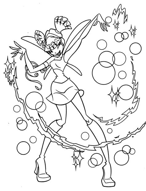 coloring page free printable free printable winx club coloring pages for kids