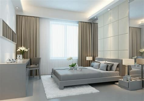 Exceptionnel Rideaux De Chambre A Coucher #1: rideau-ocultant-beige-chambre-%C3%A0-coucher-sol-en-lino-gris-lit-gris-rideaux-ikea-beiges.jpg