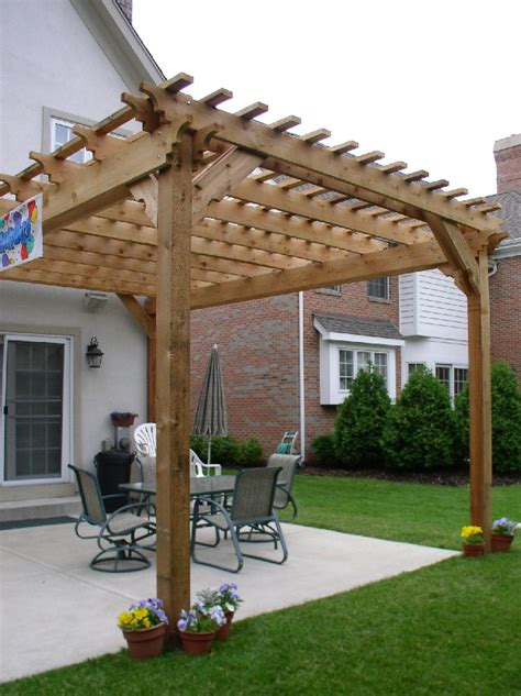 Download Cedar Pergola Plans Pdf Chair Floor Plan Symbol Pergola Designs