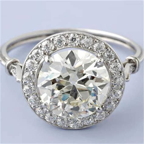 deco inspired rings deco inspired engagement rings wedding and bridal inspiration