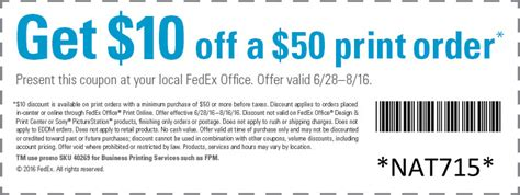 Fedex Office Coupon by Fedex Kinkos Coupon Code Gordmans Coupon Code