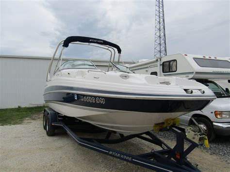 four winns build a boat four winns 244 deck boat 2007 for sale for 36 500 boats
