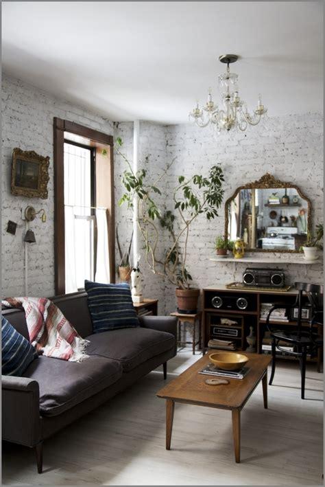 Vintage Home Design Inspiration ściana Z Cegieł Czemu Nie