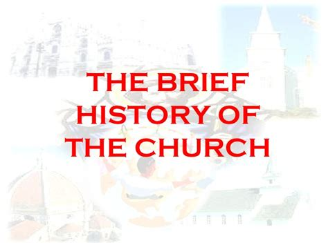 Early Christianity A Brief History 3 church history