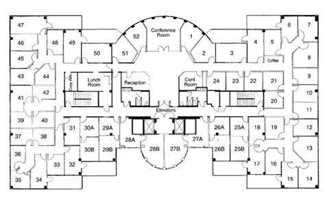 floor plan of a commercial building commercial office floor plans gurus floor