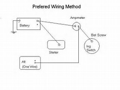 wiring diagram for one wire alternator printable image wiring diagram for one wire alternator collections