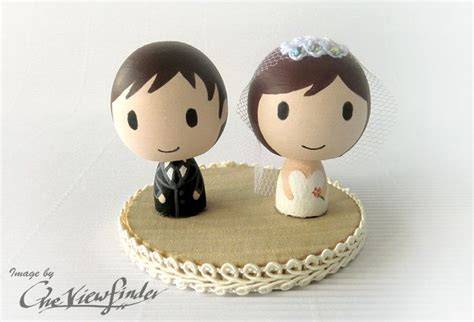 Handmade Wedding Cake Toppers - 15 favorite handmade wedding cake toppers onewed