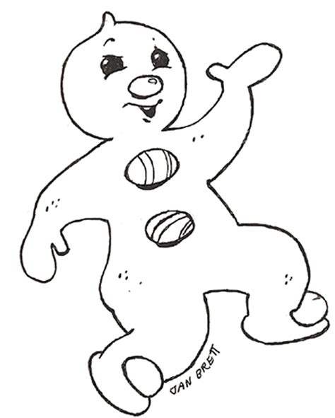 gingerbread baby coloring page free coloring pages of baby gingerbread