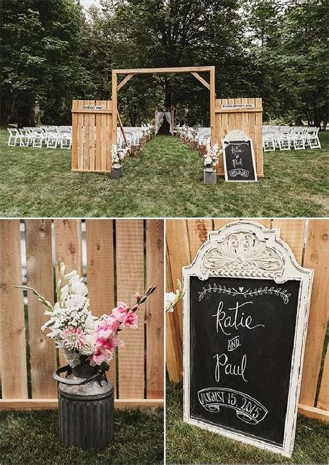 Pallet Wedding Decor 35 Eco Chic Ways To Use Rustic Wood Pallets In Your