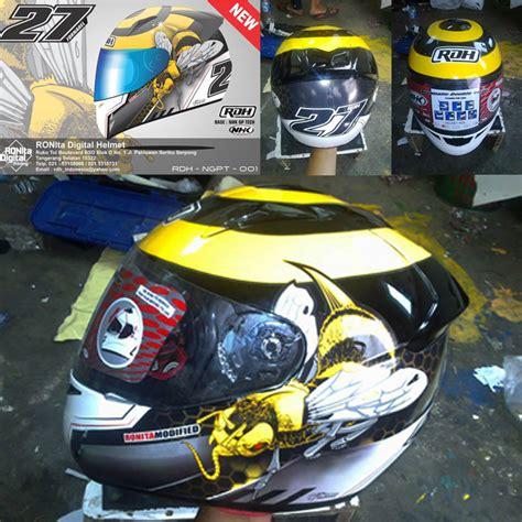 Helm Nhk Custom helm custom ronita digital printing