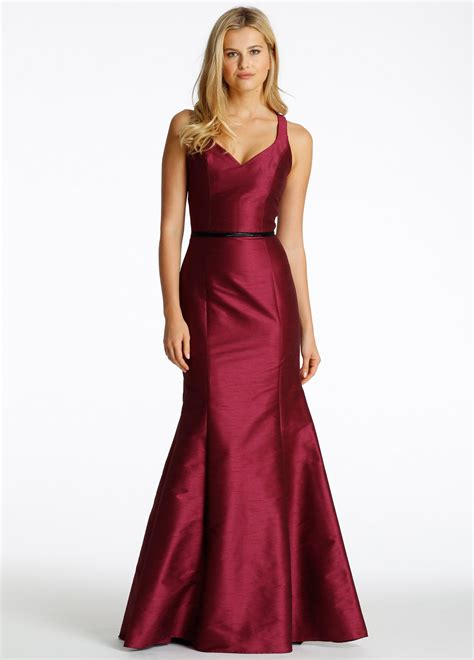 Dress Alaer Maroon Lg bridesmaids accessories from jlm couture inc style 627b