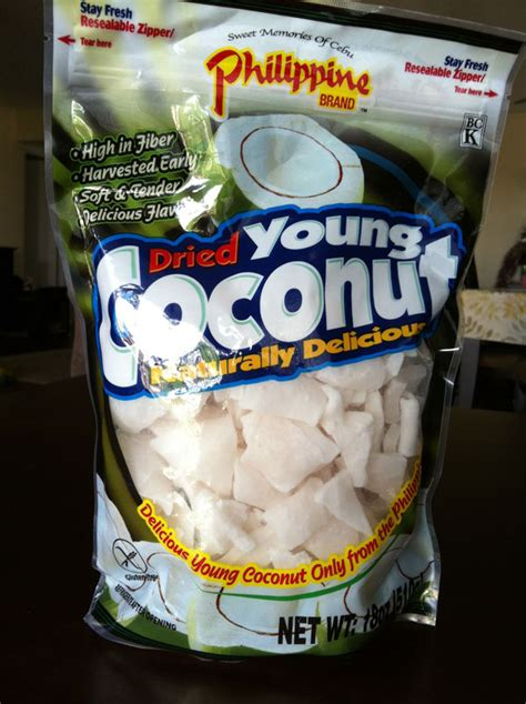costco brand food costco food reviews philippine brand dried coconut