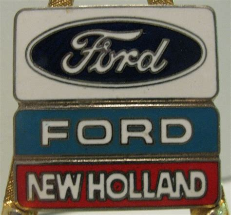 ford  holland hat lapel pin   ebay tractors  holland ford tractors ford