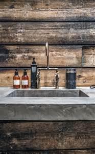 industrial bathroom sink industrial bathroom sink wood concrete modern rustic