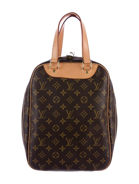 louis vuitton monogram excursion shoe bag handbags