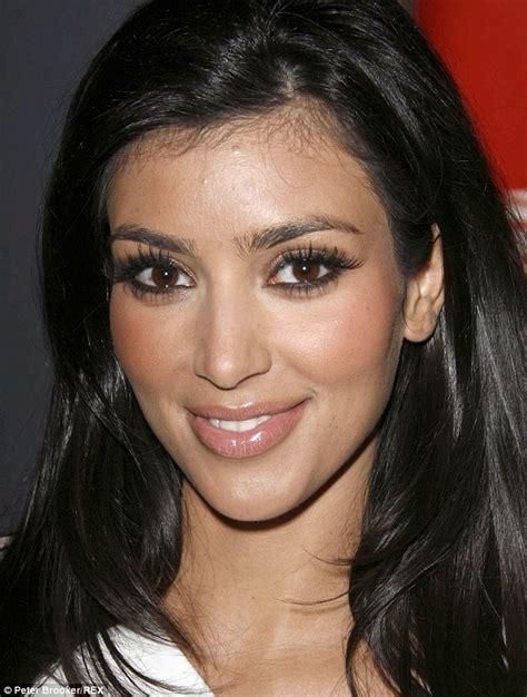 make up small foreheads kim kardashian s beauty secrets revealed in people