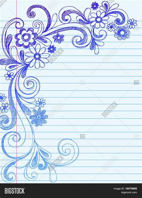lined paper with simple border simple flower borders joy studio design gallery best