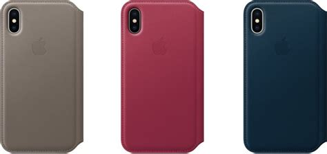 Apple Original Iphone X Leather Folio Casing Black Bnib apple releases new accessories and cases for iphone 8 and iphone x iworld