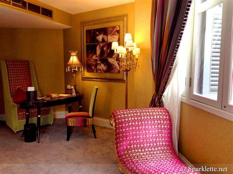 the scarlet room the scarlet hotel splendour suite living room sparklette magazine