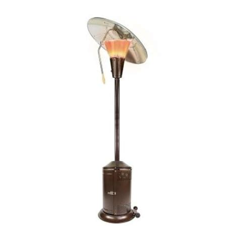 Mirage Heat Focusing Patio Heater by Mirage 38 200 Btu Bronze Heat Focusing Propane Gas Patio