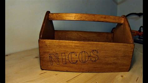 cassetta porta legna cassetta attrezzi in legno fai da te