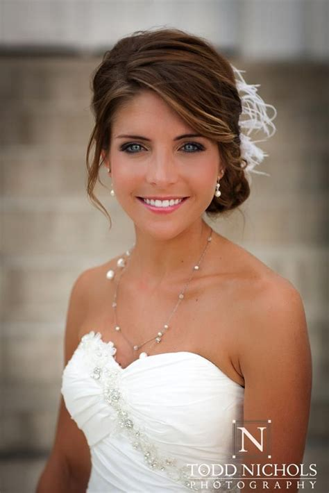 front view of side swept hairstyles 17 best ideas about wedding hair bangs on pinterest