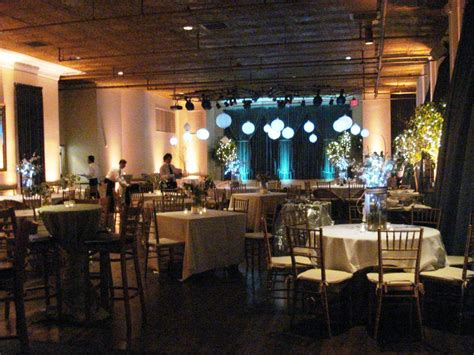 cocktail style wedding reception event accomplished llc