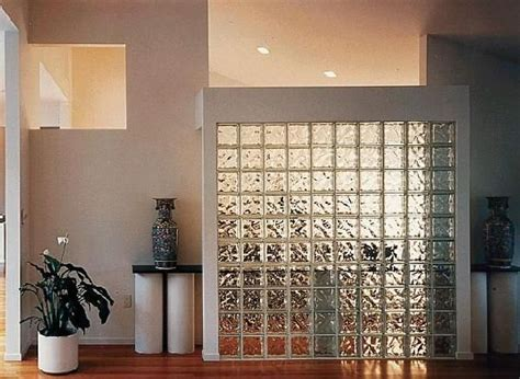 glass partition walls for home partion wall with glass blocks home design ideas