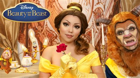 Makeup Makeover And The Beast and the beast makeup tutorial