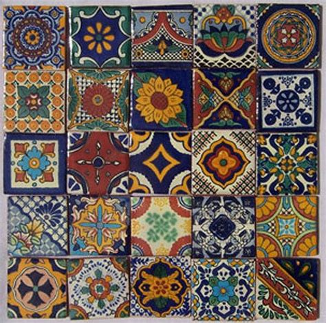 Mexican Handmade Tiles - 17 best images about handpainted tile on