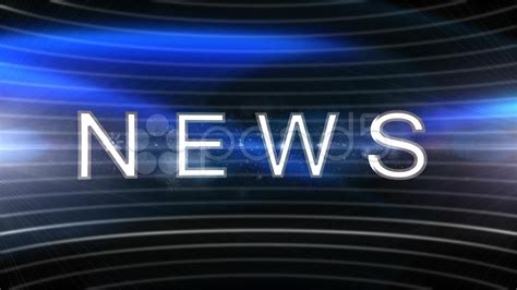 background news blue news background flash light stock video 14302150