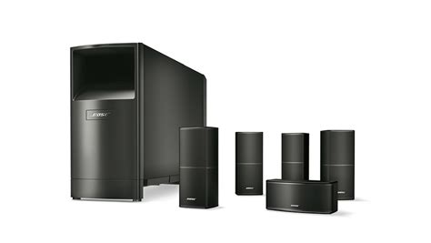 bose acoustimass 10 series v home theater speaker system