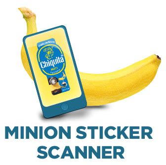 Chiquita Banana Sweepstakes - chiquita banana minion stickers www pixshark com images galleries with a bite