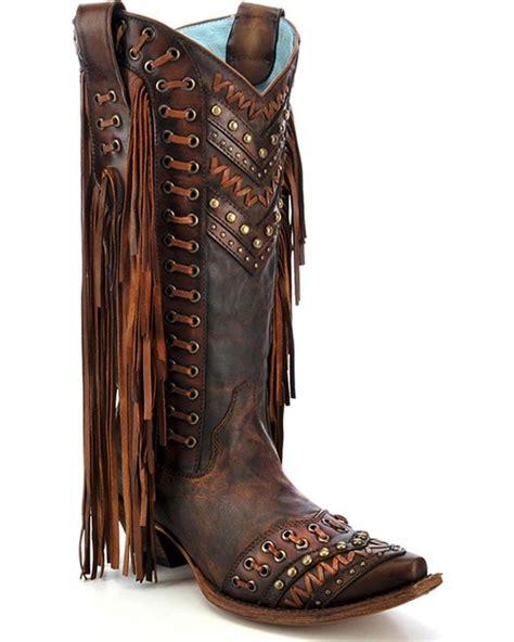 fringe corral western boots c2986 ebay