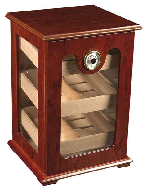 cigar humidor display cabinet 150 ct cigar humidor red wood great display show case ebay