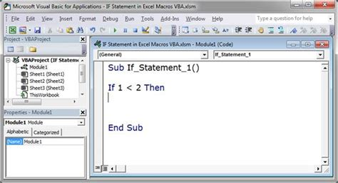 tutorial dasar kondisional statement di macro excel youtube multiple if then statements in excel 2007 vba if then