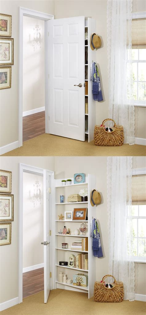 behind the bedroom door hide behind the door shelving system by foremost because